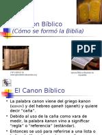 El Canon Biblico 2