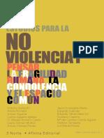 estudios para la no-violen cia I pen sar LA fragilidad humana , LA condolen cia y EL espacio común