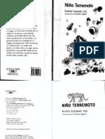 El Niño Terremoto_Andrés Kalawski
