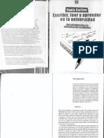 Escribir, Leer y Aprender en La Universidad - Paula Carlino