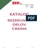 Creina_katalog Rezervnih Delov 2011