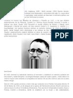 Biografia de Bertolt Brecht