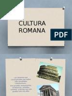 Cultura Romana Materiales