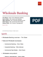 Wholesale Banking Presentation