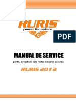 Motoferastraie Ruris Service Manual