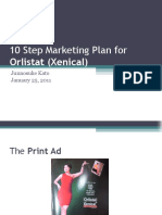 marketing plan for xenical