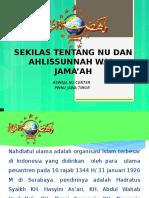 01 Sekilas Tentang Ahlissunnah Wal- Jama'Ah