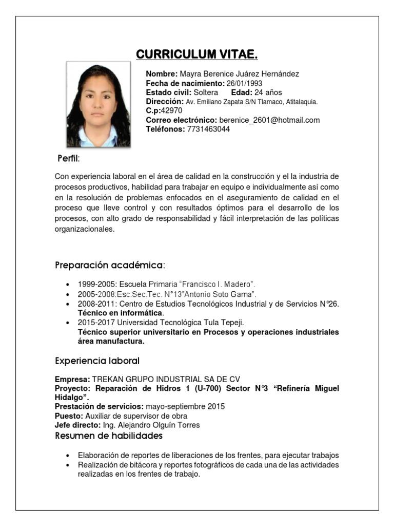 Lujoso Jefe De Proyecto Habilidades Curriculum Vitae Fotos ...
