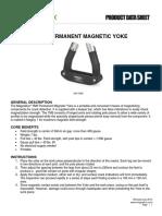 YM 5 Electromagnetic Yoke Product Data Sheet English