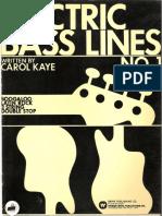 Carol Kaye - Electric Bass Lines.pdf