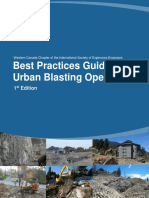 Best Practices Guide for Urban Blasting