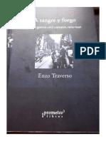 Enzo Traverso - A Sangre y Fuego. de La Guerra Civil Europea 1914 - 1945 - Prometeo - 2009