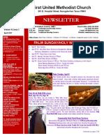 Newsletter April 2017