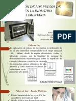 Presentacion Pulso de Luz Industria Alimentaria