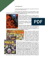 Historia de Los Superheroes