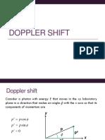 Doppler Shift Derivation