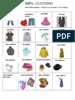 clothing vocabdocx