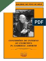 Livro - Confissões Do Inferno - Exorcista Padre Gabriele Amorth