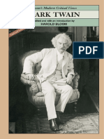 [Harold Bloom] Mark Twain (Bloom's Modern Critical