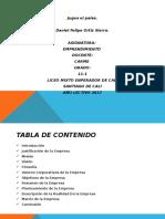 Daniel Felipe Jugos El Paisa Emprendimiento