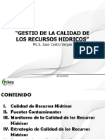 Clases de Calidad de Recursos Hidricos Trujillo Octubre 2016
