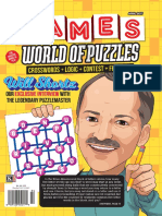 Games World of Puzzles April 2017