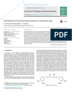 Investigation on Curcumin Nanocomposite for Wound Dressing