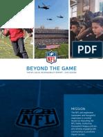 2016 Social Responsibility Full Report NFL