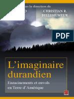 Durand Gilbert, Gilbert-L'imaginaire durandien _ enracinements et envols en terre d'amerique-Presses de l'Université Laval (2014)(1)