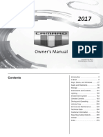 2017 Chevrolet Camaro Owners Manual