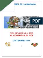 Oraciones Diciembre 2016
