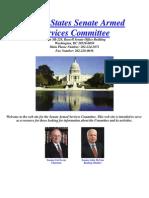 """The [Untold] Tillman Story""  Appendix H1 -- Gen. McChrystal's June 2, 2009 Senate Hearing  (7/04/10; Last Updated 12/28/10)"