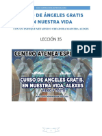 Curso de Angeles Gratis Leccion 35 en Nuestra Vida Alexiis y Centro Atenea Espiritual.