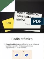 Radio Atómico2c Covalente y Iónico