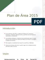 Plan Area Mexico 2015