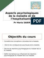 Aspects Psychologiques de La Maladie Et de L_hospitalisation