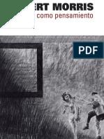 CATALOGO - Robert MORRIS, El dibujo como pensamiento. IVAM.pdf