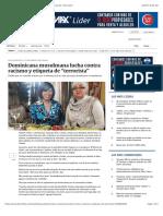 """Dominicana Musulmana Lucha Contra Racismo y Etiqueta de """"Terrorista"""""""