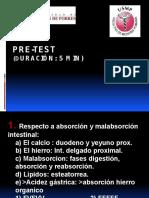Medicina III - Sd. de Malabsorción y TBC