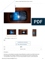 Blackberry Curve 8520 Téléphonie Bouches-du-Rhône - Leboncoin