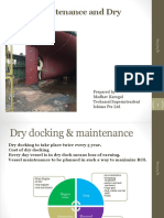 Vessel Maintenance and Dry Docking