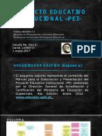 Proyecto Educativo Institucional –Pei- Tarea 4 Claudia Díaz