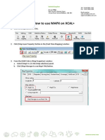 XCAL How to Set TAB Map Using MapX v1.0