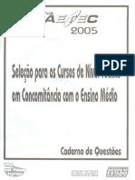 2005 FAETEC PROVA.pdf