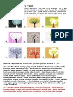 26 Kepribadian Pohon & Warna