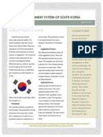 south korea political system