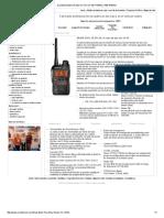 Dual Band Bolsillo Radio UV-X4 Con 136-174MHz y 400-470MHz
