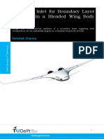 80_Sharma_THESIS_Design of Inlet for Boundary Layer Ingestion in a BWB