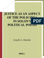 ALMEIDA_2003_Justice As an Aspect of the Polis Idea in Solon's Political Poems. A Reading of the Fragments in Light of the Researches(1)