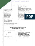 Melendres #1867 - P & DOJ Response to Arpaio Motion Re Discovery